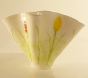 deb tulip vase